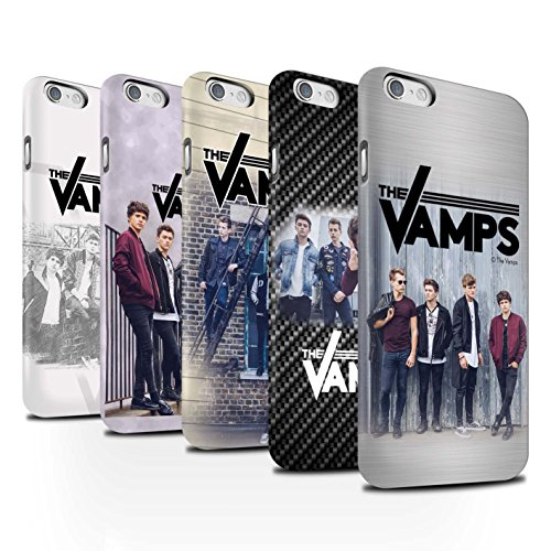Offiziell The Vamps Hülle / Matte Snap-On Case für Apple iPhone 6 / Pack 6pcs Muster / The Vamps Fotoshoot Kollektion Pack 6pcs