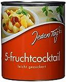 Jeden Tag Fruchtcocktail gezuckert, 12er Pack (12 x 850 ml)