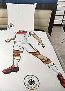 DFB Bettwäsche Kinder 135 x 200 cm Trikot Nationalmannschaft EURO 2016