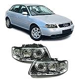 Carparts-Online 10213 Facelift DE H7 H1 Klarglas Scheinwerfer Paar