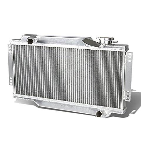 ALLOYWORKS 2rangées Refroidissement du moteur en Aluminium Radiateur