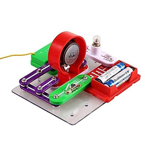 Arshiner elektro Baukasten W-39 Schaltkreise Experimente Elektronische Entdeckung Kit Erziehungswissenschaft (Wissenschaft Experimente Licht)