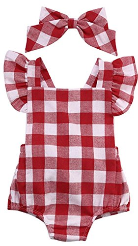 Baby Jumpsuit Internet Cotton Bowknot Strampler Overall (60)