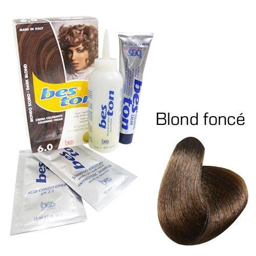 Kit coloration cheveux - Teinte Blond Foncé