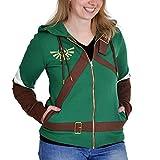 The Legend of Zelda Cosplay Zip-Hoodie Girl-Kapuzenjacke multicolour S