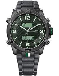 Tommy Hilfiger 1790782 - Reloj de Caballero movimiento de quarzo, correa de caucho color negro