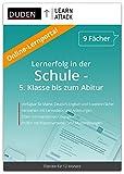 Duden Learnattack – Lernportal für Mathe, Deutsch, Englisch und 6 weiteren Fächern - 5. Klasse bis zum Abitur (12 Monate Flatrate)