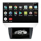 YUNTX auto stereo audio, con sistema di navigazione GPS per BMW E90, autoradio con Android 18cm schermo capacitivo muti-touch con telecamera libera