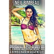 Primal Island 3: A Bimbo Harem Adventure (English Edition)
