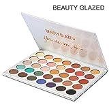 Beauty Glazed Eyeshadow Palette 35 Colors Eye Shadow Powder Make Up Waterproof Eye Shadow Palette Cosmetics