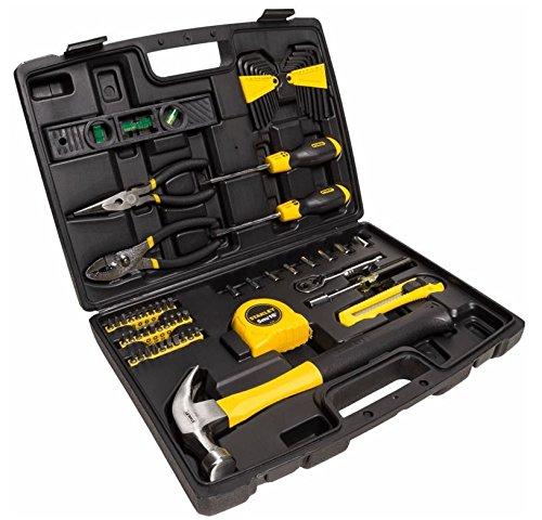 Stanley stmt0-94248 kit 65 utensili per la casa in valigetta