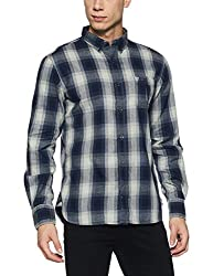 French Connection Mens Slim Fit Casual Shirt (52ISD/3_Dnj 247_M)