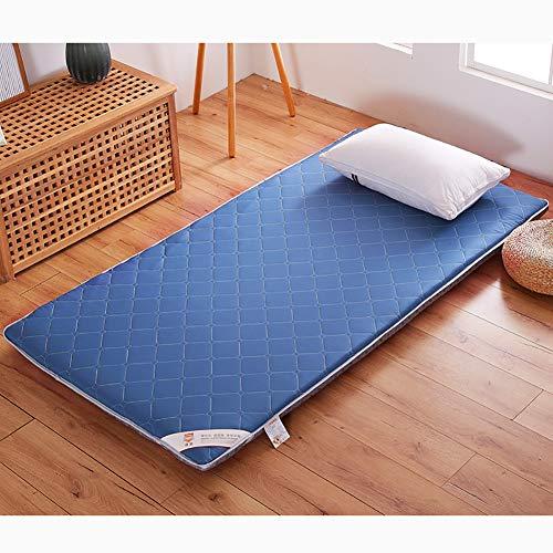 UNILIFE Feder Baumwolle Tatami-matratze Matratzenschoner Kaltschaummatratze, Klappbares Bett-matten Matratzenauflage Boden Schlafen pad-A 120x200x6cm Simmons Zip