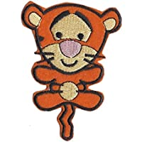 'Baby Tigger' Winnie The Pooh Iron on Sew on Embroidered Badge Applique Motif Patch From PatchWOW
