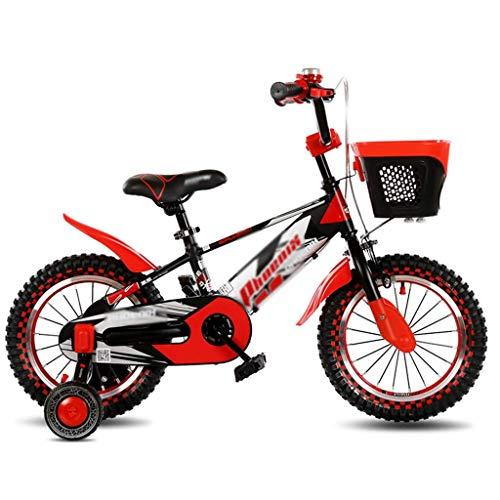 ETZXC Kinderfahrräder Kinder Outdoor Fahrrad Junge Mädchen Heimtrainer Freizeit Buggy Indoor Kinder Praxis Auto Schöne Fahrrad Sehr Cool Bike -18 Zoll