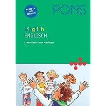 PONS Singlish 1: Englische Kinderlieder. Audio-CD und illustriertes Textheft mit Liedtexten