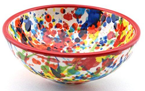 Art Escudellers Geschirr aus Keramik handgefertigt und Handbemalt mit IVANROS Dekoration rot 34415.r - Brunnen -