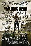 "The Walking Dead Poster Photo 12x8"" Signed PP Cast Robert Kirkman Andrew Lincoln Norman Reedus David Morrissey Danai Gurira Laurie Holden Sarah Wayne Callies Steven Yeun"