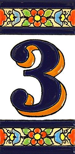 Números casa. Letreros numeros letras azulejo ceramica