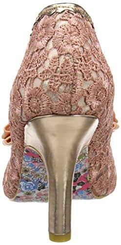 Irregular Choice, Scarpe col tacco donna Rosa (Pink/Gold)