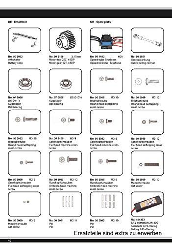 Akron Monstertruck 1:10 BL 4WD Lipo 2,4G- Allrad, Brushless, Akku, 60Kmh, Aluchassis, spritzwasserfest, Öldruckstoßdämpfer, Kugellager, Fahrwerk einstellbar, fahrfertig - 10