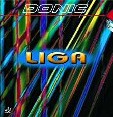 DONIC Liga Table Tennis Rubber (Red)
