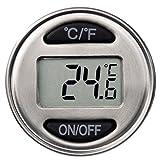 Xavax Weinthermometer Digital aus Edelstahl (auch geeignet als Bratenthermometer und Flaschenverschluss) Küchenthermometer Silber - 7