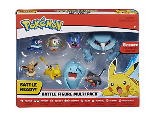 Pokemon 96302 Battle 8 Figura, Multicolor, 2/3 Pulgadas 3