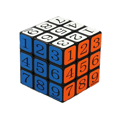 OJIN Número Speed Magic Cube Puzzle 3x3x3 3 Capas