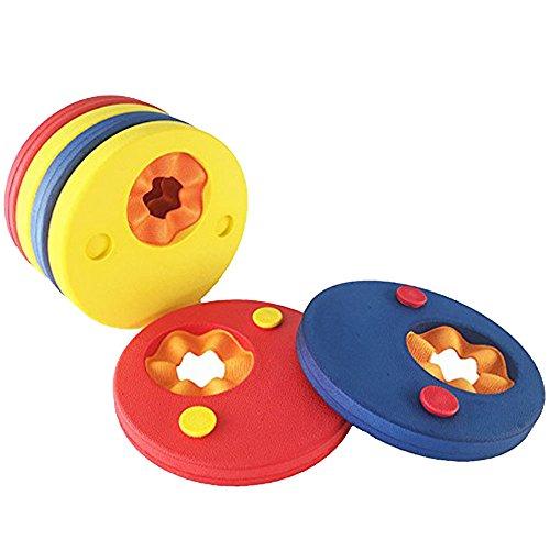 vientiane Manguitos de Natación para Niños,6 piezas Swim Float Discs