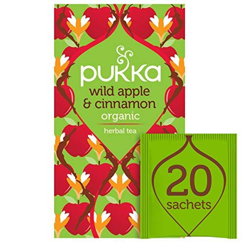 Pukka Wild Apple and Cinnamon Fruit Tea, 20 sachets