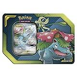 Lively Moments Pokemon Karten Tin Box Tag Team Celebi & Bisaflor - GX DE Deutsch Promo Sammelkarten / Metallbox