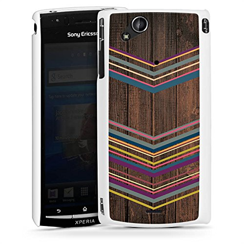 sony-ericsson-xperia-arc-s-hulle-schutz-hard-case-cover-holz-farben-muster