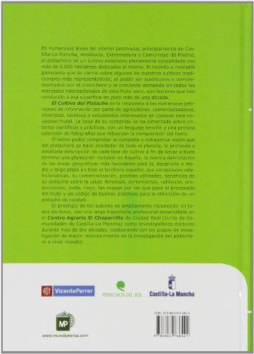 Copertina del libro El cultivo del pistacho