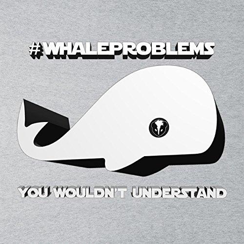 Whale Problems Star Wars SWGOH Women's Sweatshirt Heather Grey