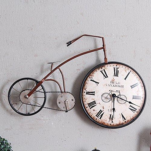 horloge murale Rétro Personnalité Vélo Design Suspendus Vintage Creative Vélo Montre Ornements Cycle Home Decor Bar Décoration