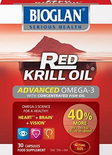 Bioglan Red Krill Oil + Fish Oil Capsules - Pack of 30 Test