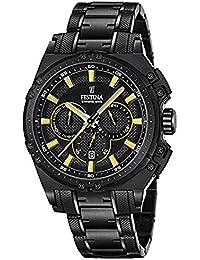 Festina Herren-Armbanduhr Chronograph Quarz Edelstahl beschichtet F16969/3