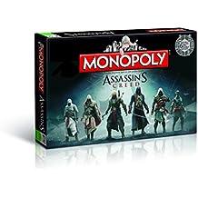 Winning Moves Monopoly Assassins Creed Niños y adultos Simulación económica - Juego de tablero (Simulación económica, Niños y adultos, Niño/niña, 8 año(s), Alemán, Alemán)