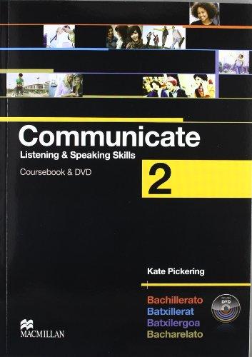 Communicate 2 Coursebook & DVD - 9780230432673