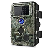 apeman Wildkamera mit 130 ° Weitwinkelobjektiv 120 ° Erkennung mit Infrarot-Nachtsicht bis zu 65 Fuß/20 m Jagdkamera mit IP66 Wasser geschützten Desig