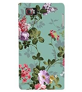 Fuson Designer Back Case Cover for Lenovo Vibe Z2 Pro :: Lenovo K920 :: Lenovo Vibe Z2 Pro K920 (Small Purple Flowers Small Red Flowers roses purple Roses Small Pink Flowers)
