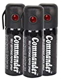 Commander Self Defense Pepper Spray-35 Gms (Combo Of 3)