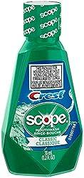 3 Pack - Crest Scope Classic Mouthwash 1.2 oz