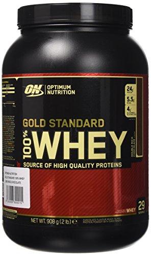 Newsbenessere.com 51BinB-HYiL Optimum Nutrition Gold Standard 100% Whey Proteine del Siero di Latte in Polvere, Gusto Doppio Cioccolato - 908 gr