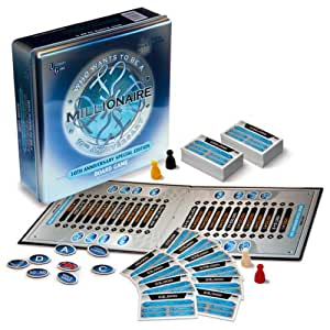 University Games Who Wants to be a Millionaire Board Game Special Tin Presentation
