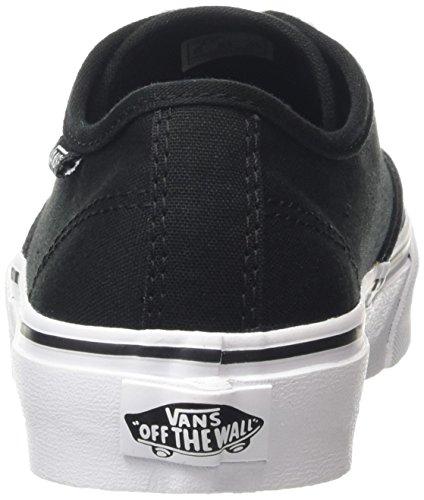 Vans Damen Camden Stripe Sneaker Schwarz (canvas/black/white)