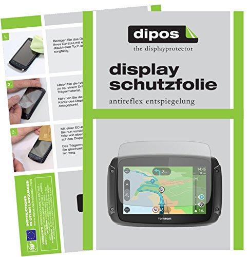 TomTom Rider 450 Schutzfolie - 3x dipos Displayschutzfolie Folie matt