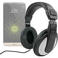 DURAGADGET Auriculares Estéreo Con Cable De 2 m Para LG G5/X Cam/K10