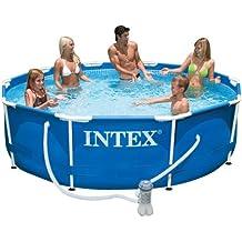INTEX 56999FR - Piscina tubular (metal)